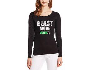 SweetFit Beast Mode Ladies Long Sleeves