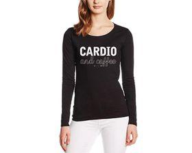 SweetFit Cardio and Coffee Ladies Long Sleeves