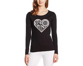 SweetFit Cyclist Heart Ladies Long Sleeves