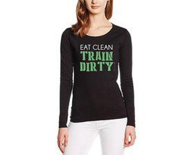 SweetFit Train Dirty Ladies Long Sleeves