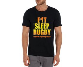 SweetFit Eat Sleep Rugby Men's T-Shirt
