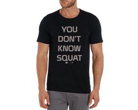 SweetFit You Don't Know Squat Men's T-Shirt