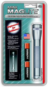 Maglite - AA Holster Combo Pack - Pewter