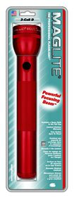 Maglite - 3D Cell Hang pack With Clamps - Red