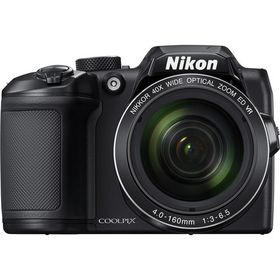 Nikon B500 Ultra Zoom Digital Camera Black