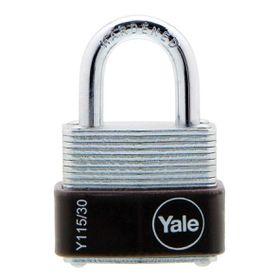 Yale - 30mm Laminated Padlock