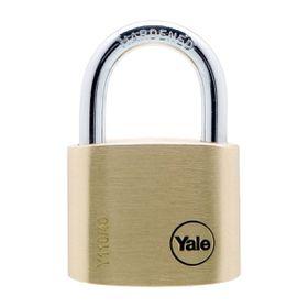 Yale - 40mm Brass Padlock