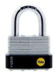 Yale - 50mm Laminated Padlock