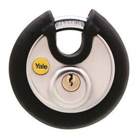 Yale - 70mm Black Cover Discus Padlock