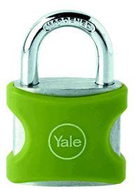 Yale - Aluminium Padlock 38mm - Green