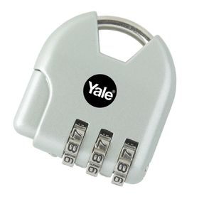 Yale - Children's Combination Padlock Active Style - Silver