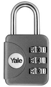Yale - Combination Padlock - Grey