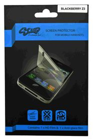 Scoop Screen Protector for Blackberry Z3 Twin Pack