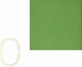 The Bathroom Shop - Shower Curtain - Lime Diamond