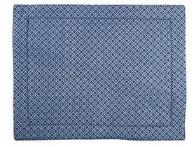 Balducci - Set Of 6 Shweshwe Placemats - Navy Diamond