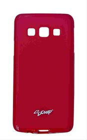 Scoop Progel Samsung Galaxy A3 Case with Screen Protector - Red