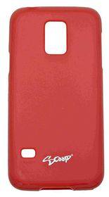 Scoop Progel Samsung S5 Mini Case with Screen Protector - Red