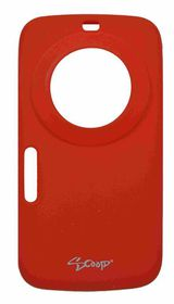 Scoop Progel Samsung K Zoom Case with Screen Protector - Red