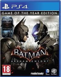 Batman Arkham Knight GOTY (PS4)
