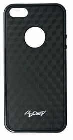 Scoop Fuzion Case for iPhone 5/SE - Black