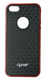 Scoop Fuzion Case for iPhone 5/SE - Red