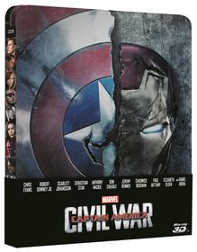 Captain America: Civil War Steelbook (3D & 2D Blu-ray)