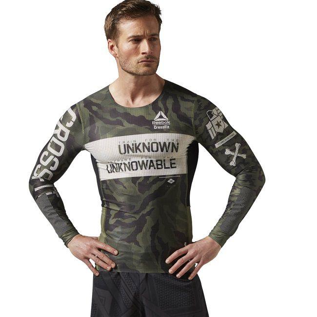 men 39 s reebok crossfit ls kevlar compression t shirt buy. Black Bedroom Furniture Sets. Home Design Ideas