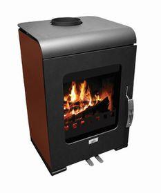 Alva - 7kw wood burning fire place