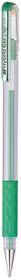 Pentel Hybrid Metallic Gel Grip 0.8mm Pen - Green