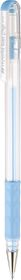 Pentel Hybrid Milky Gel Grip 0.8mm Pen - Light Blue