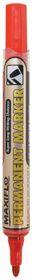 Pentel Maxiflo Bullet Tip Permanent Marker - Red