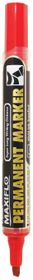 Pentel Maxiflo Chisel Tip Permanent Marker - Red