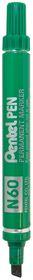 Pentel Pen Chisel Tip Permanent Marker - Green