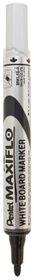 Pentel Maxiflo 4.0mm Bullet Tip Whiteboard Marker - Black