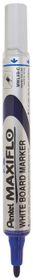 Pentel Maxiflo 4.0mm Bullet Tip Whiteboard Marker - Blue