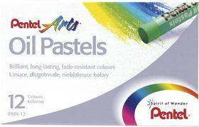 Pentel 12 Oil Pastels Set