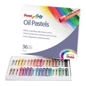 Pentel 36 Oil Pastels Set