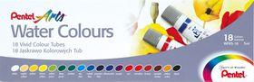 Pentel 18 Water Colour Tubes Set