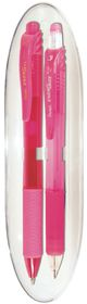 Pentel Energel X Pen & Pencil Gift Set - Pink