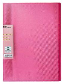 Pentel Display Book Vivid 30 Pockets - Pink