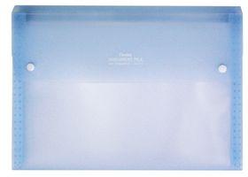 Pentel A4 13 Pockets Document File - Transparent Blue