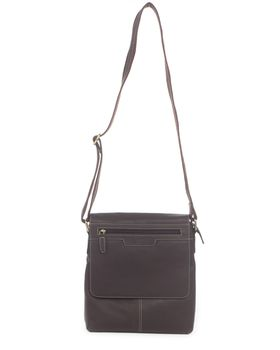 Bossi Cross Body Bag in Brown