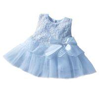 Snow White Babygirl Princess Dress - Sky Blue