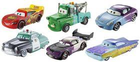 Disney Pixar Cars Colour Changes