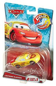 Disney Pixar Cars Colour Changes Lightning McQueen
