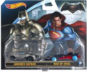 Hot Wheels Batman v Superman  Vehicle 2-Pack