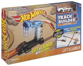 Hot Wheels Track Builder Essentials With One Car - Lift and Launch