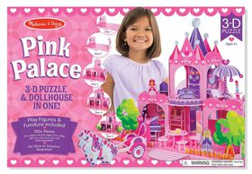 Melissa and Doug Pink Palace 3D Puzzle