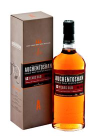 Auchentoshan - 12 Year Old Single Malt Whisky - 750ml