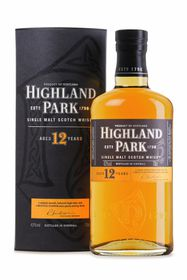 Highland Park - 12 Year Old Single Malt Whisky - 750ml